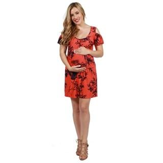 24seven Comfort Apparel Wren Maternity Dress