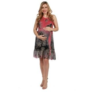 24seven Comfort Apparel Emerson Maternity Dress