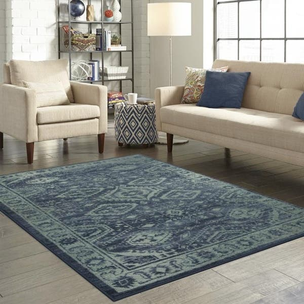Shop Maples Rugs Distressed Ludlow Accent Rug (1\'8\