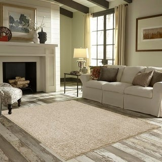 Maples Rugs Jayme Solid Shag Area Rug - 7' x 10' (Option: Sand)