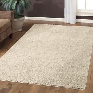 """Maples Rugs Jayme Solid Shag Accent Rug (2'6""""x3'10"""")"""