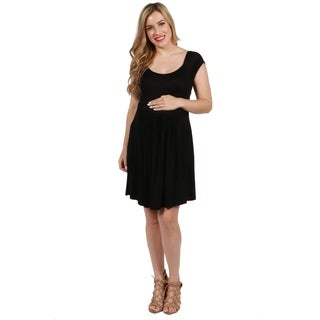 24seven Comfort Apparel Lillian Maternity Dress