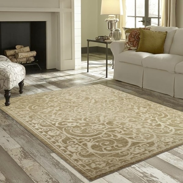 Shop Maples Rugs Distressed Dover Area Rug 7 X10 On Sale Free