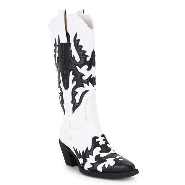 Ann Creek Women's 'Claremont' Texture Patch Boots
