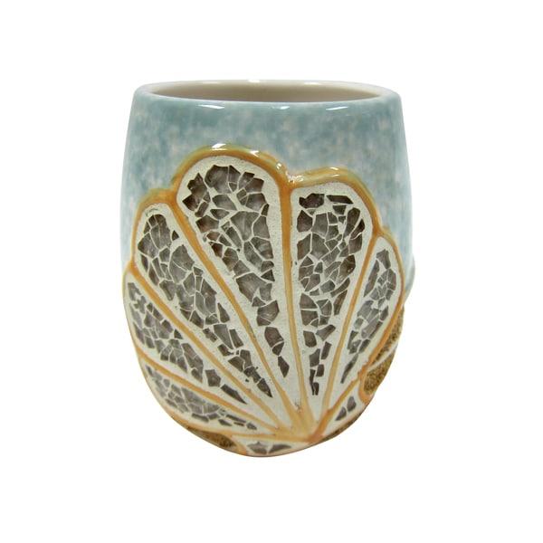 Croscill Mosaic Shell Tumbler