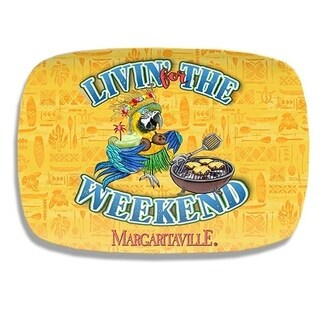 Livin' For The Weekend Yellow Platter