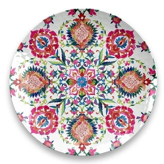 Indie Floral Round Platter