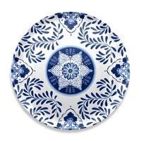 Cobalt Casita Round Platter