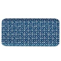 Indochine Ikat Rectangular Matte Finsh Tray