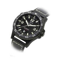 Shop xezo for unite4 good air commando men 39 s limited edition automatic divers and pilots watch for Xezo watches
