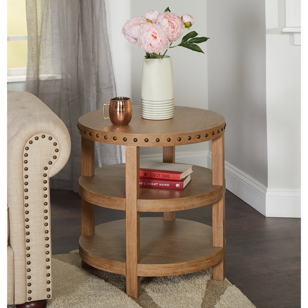 Shop Simple Living Upland End Table Free Shipping Today