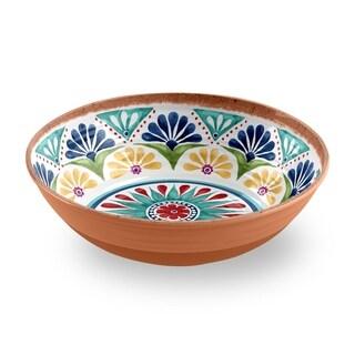 Rio Medallion Low Serve Bowl
