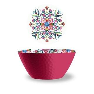 Indie Floral Serve Bowl