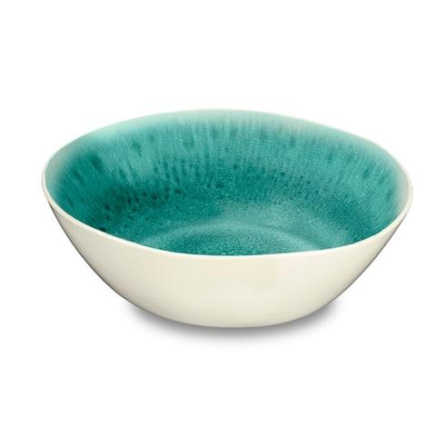 Radiant Glaze Serve Bowl Turquoise