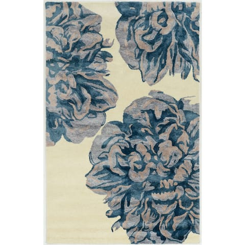 Hand Tufted Alexis in Wool Area Rug