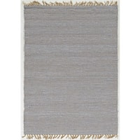 Hand Woven Harrison Collection in Lilac Wool Area Rug (1'10 x 2'10) - 1'10 x 2'10