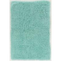 Hand Woven New Flokati 1400grams Mint 100% Wool (2' X 3') - 2' x 3'