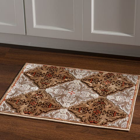Structure in Chenille Area Rug
