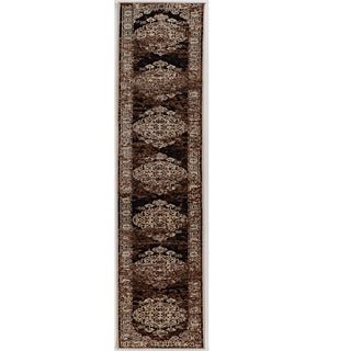 Linon Vintage Collection Nain Beige Rug (2' X 10')