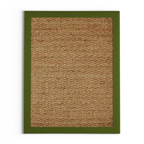 Copper Grove Tiffin Coastal Seagrass Sage Area Rug - 3'4 x 5'
