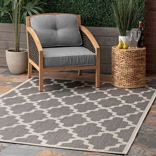 Link to nuLOOM Outdoor Moroccan Trellis Area Rug Similar Items in Casual Rugs