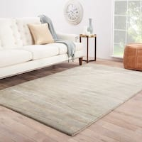 Havenside Home Laurel Bay Handmade Abstract Grey/ Multicolor Area Rug (9'6 x 13'6) - 9'6 x 13'6
