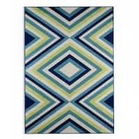 Havenside Home Rowayton Multicolor Indoor/ Outdoor Area Rug - 6'7 x 9'6