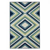 Havenside Home Rowayton Multicolor Indoor/ Outdoor Area Rug - 1'8 x 3'7