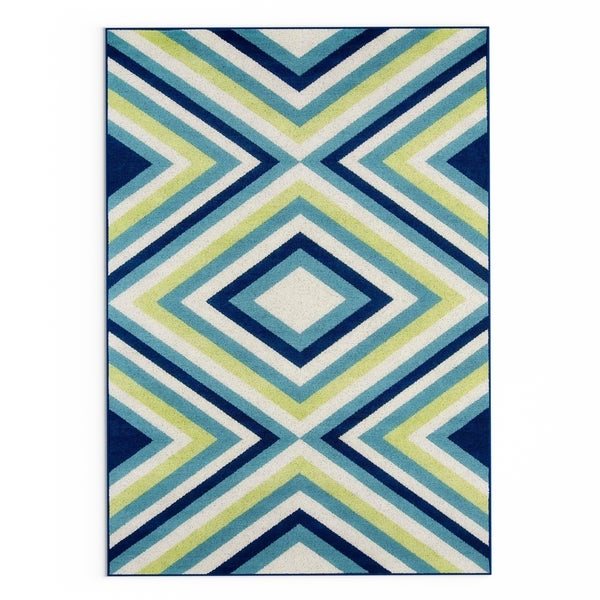Carson Carrington Traskanda Multicolor Indoor/ Outdoor Area Rug - 3'11 x 5'7