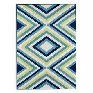 Havenside Home Rowayton Multicolor Indoor/ Outdoor Area Rug - 3'11 x 5'7