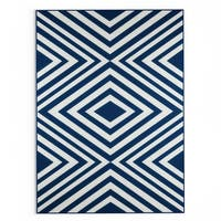 Havenside Home Rowayton Navy Indoor/ Outdoor Area Rug - 7'10 x 10'10