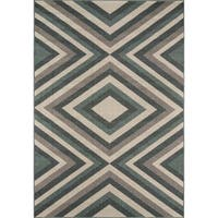 Havenside Home Rowayton Sage Indoor/ Outdoor Area Rug - 8'6 x 13'