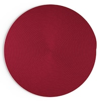 Havenside Home Rodanthe Round Reversible Indoor/ Outdoor Area Rug (10 ' x 10')