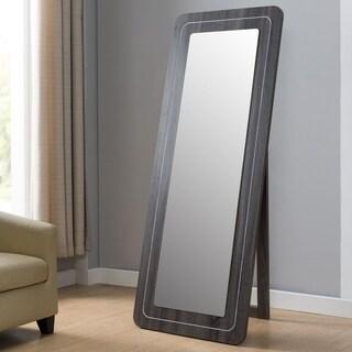 Furniture of America Pai Contemporary Grey 72-inch Rectangular Mirror