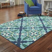 Lewisburg Medallion Indoor/ Outdoor Area Rug by Havenside Home