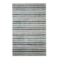 Havenside Home Orleans Stripe Blue Rug - 8' x 10'