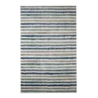 Havenside Home Orleans Stripe Blue Area Rug - 8' x 10'