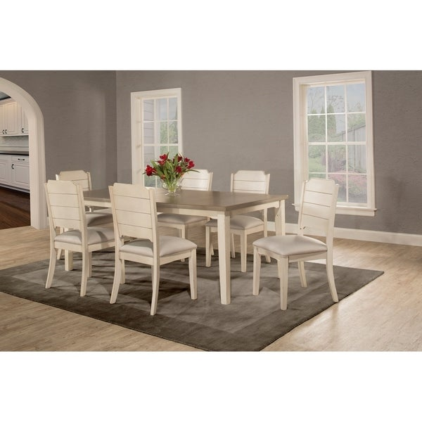 Dining Sets Sale: Shop The Gray Barn Steeplechase 7-piece White Rectangle