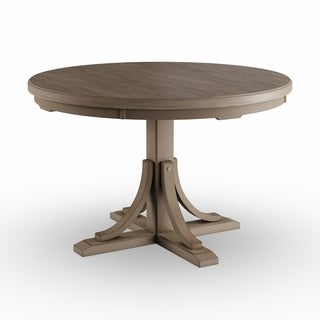 The Gray Barn Steeplechase Grey Round Dining Table
