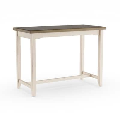 The Gray Barn Steeplechase Counter Height Grey Side Table