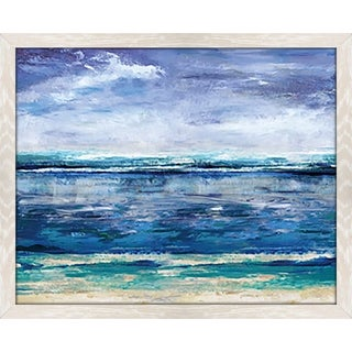 """Elucidate Framed Acrylic Painting Print Under Glass"