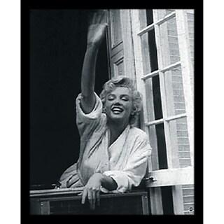 """""""Marilyn Monroe V Framed Photographic Print Under Glass"""