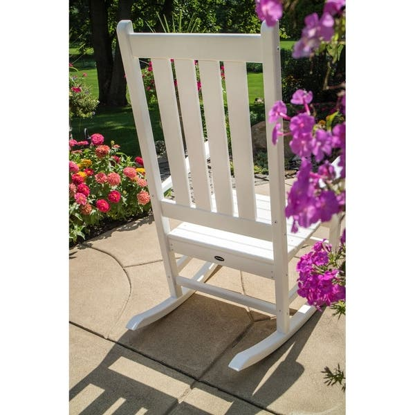Terrific Shop Polywood Vineyard Outdoor Rocking Chair Free Shipping Caraccident5 Cool Chair Designs And Ideas Caraccident5Info