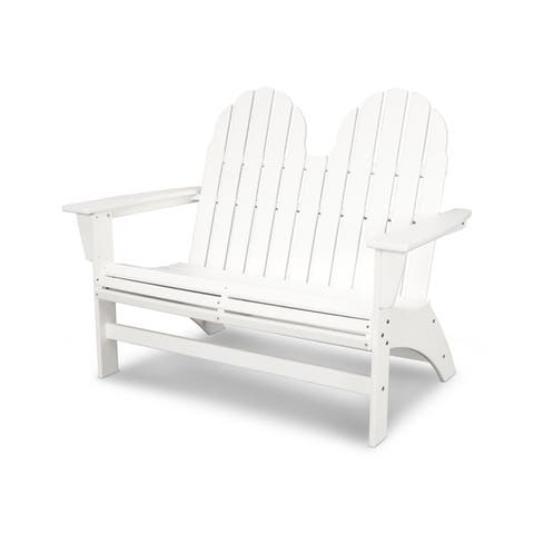 POLYWOOD® Vineyard Adirondack Bench