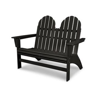 Cool Buy Black Polywood Outdoor Benches Online At Overstock Our Gmtry Best Dining Table And Chair Ideas Images Gmtryco