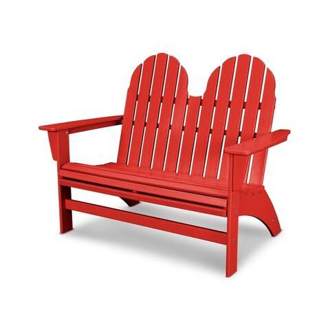 POLYWOOD® Vineyard Adirondack Bench