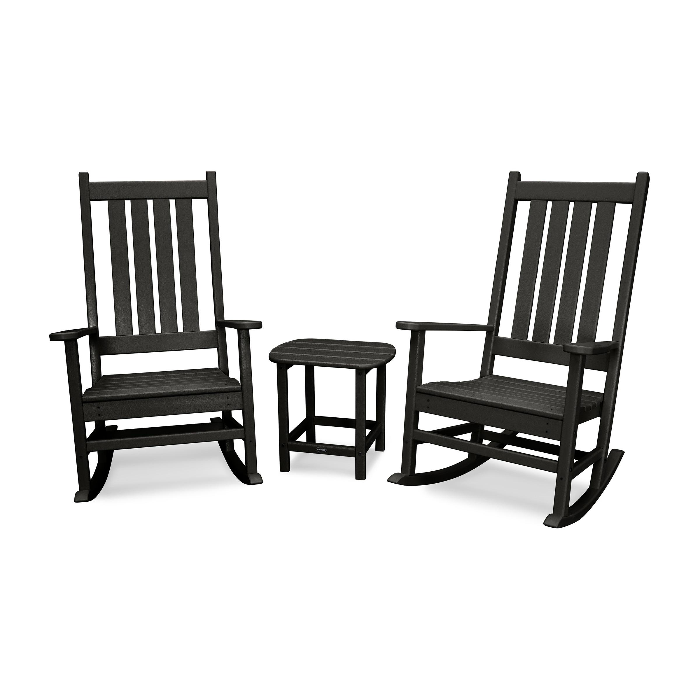 Vineyard 3 Piece Outdoor Rocking Chair