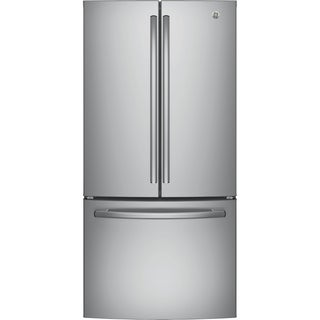 GE ENERGY STAR 18.6 Cu. Ft. Counter-Depth French-Door Refrigerator in Stainless steel