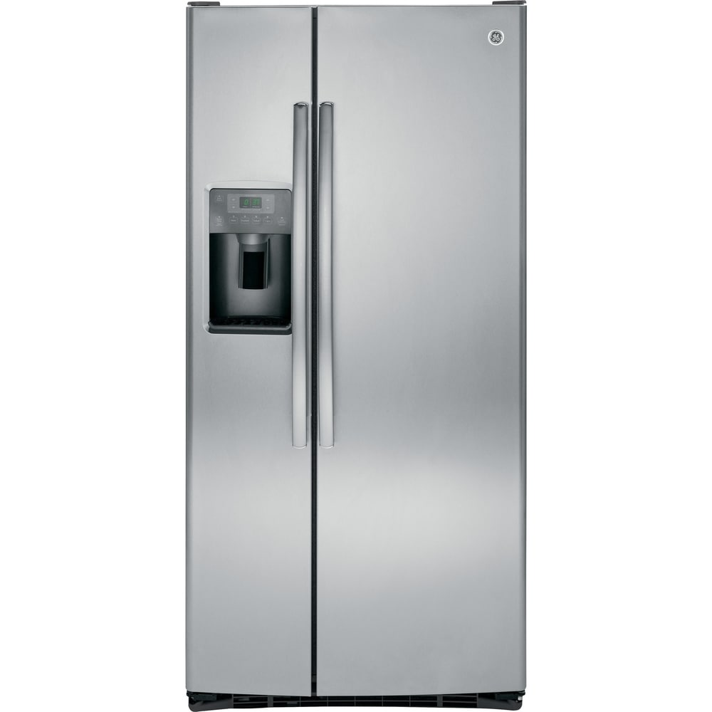 GE  23.2 Cu. Ft. Side-By-Side Refrirator in stainless steel (Stainless Steel - 5.1 - 7 cu. ft. - 2)