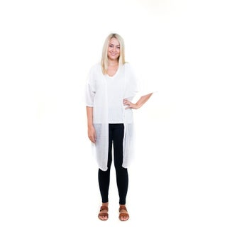Le Nom Spring and Summer Fashion Heathered Cardigan Cover-Up Duster (3 options available)